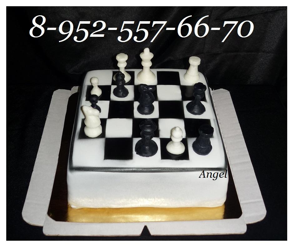 Торт шахмат срецптом с фотом